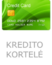 Tax Card kreditine kortele